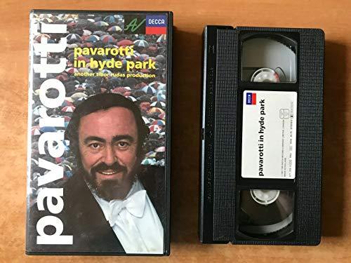 Luciano Pavarotti im Hyde Park [Reino Unido] [VHS]