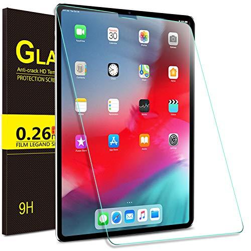 ELTD Glas Displaysfolie für iPad Pro 12.9 2020/2018,Rounded Corners 2.5D, 9H Härte, gehärtetes Glas Displayschutz Glasfolie Panzerfolie für Apple iPad Pro 12.9 Zoll 2020/2018 (1 Stück)