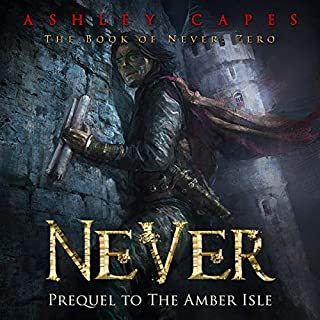Never audiobook cover art