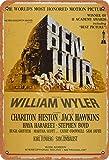 Ben-Hur Blechschild Metall Plakat Warnschild Retro