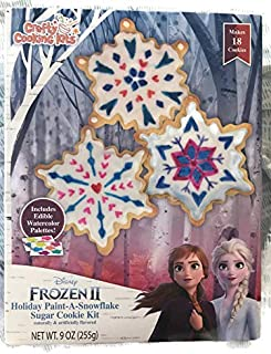 Frozen 2 Holiday Paint A Snowflake Cookie Makes 18 Cookies