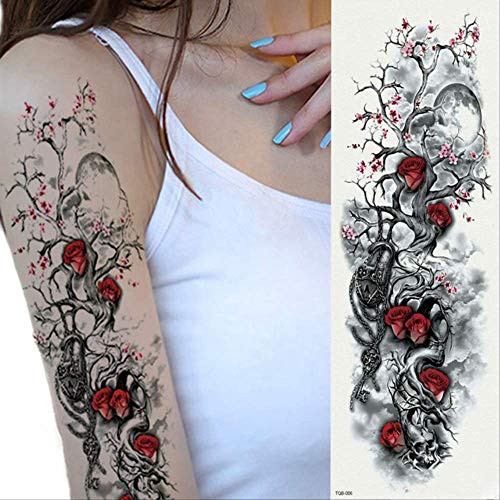 Etiqueta engomada del tatuaje temporal a prueba de agua Sexy falso Flash Tattoo Girl Finger Body Arm Art Figure Tattoo Sticker 10pcs D