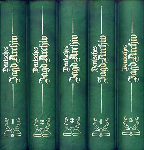 Deutsches Jagd-Archiv. 8 Bände.