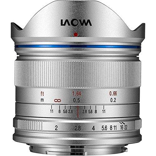 Laowa ve7520mftstsil–7.5mm Objektiv für Kamera Micro 4/4(16.9MP, HD 720P) Farbe Silber