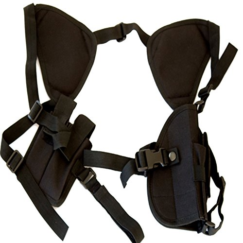 Best Concealed Carry 1911 Shoulder Holster - Works Great for Revolvers, Pistols, Hand Guns - Universal Fit for Glock, Springfield, Taurus, MTAC, Kimber, Walther,Beretta, Ruger, Colt, All Others!
