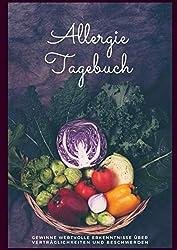 Allergietagebuch: Ernährungstagebuch