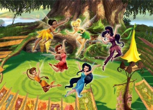 XXL Poster Fototapete Disney Tinkerbell Feen Tinker Bell 160x115cm