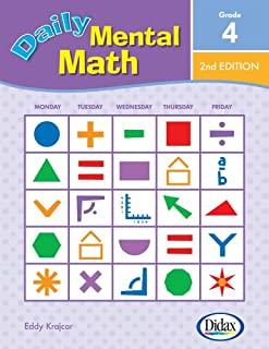 Daily Mental Math, 2nd Edition (Grade 4)