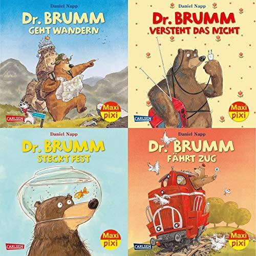 Maxi-Pixi-4er-Set 40: Dr. Brumm (4x1 Exemplar) (40)