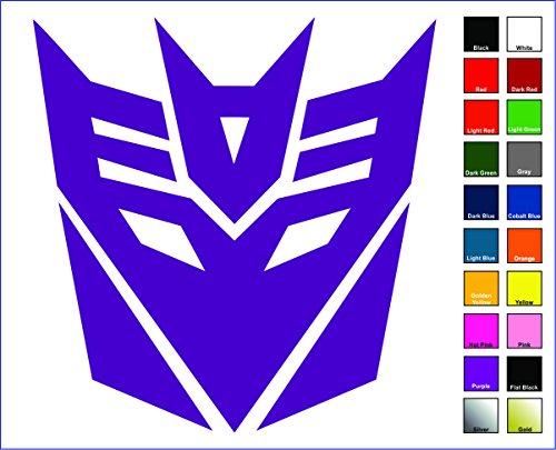 Cove Signs Decepticons Sticker/Decal - Purple 4' - Transformers Megatron