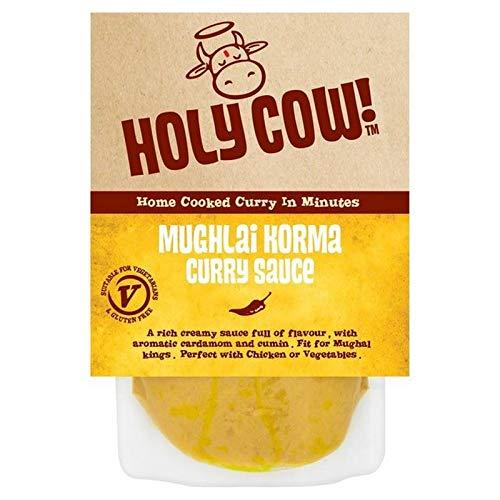 6x Heilige Kuh! Mughlai Korma-Curry-Sauce 250G