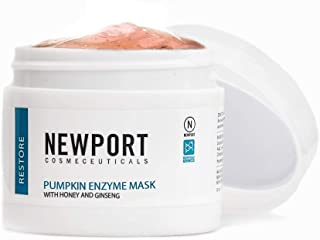 Pumpkin Enzyme Face Mask – Made with Honey, Ginseng & Hyaluronic Acid – Intense Hydration & Anti-Aging Nourishment for Skin