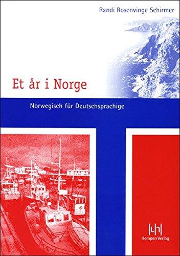 Et år i Norge. Norwegisch für Deutschsprachige: Lehrbuch mit Schlüssel und CD