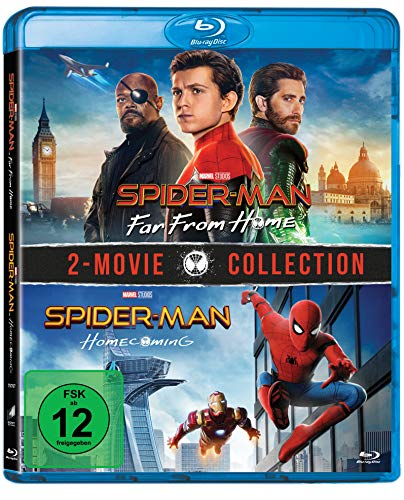 Spider-Man: Far from home & Spider-Man: Homecoming [Blu-ray]