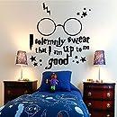 pegatinas de pared mariposas Harry Potter Gafas Etiqueta de La ...