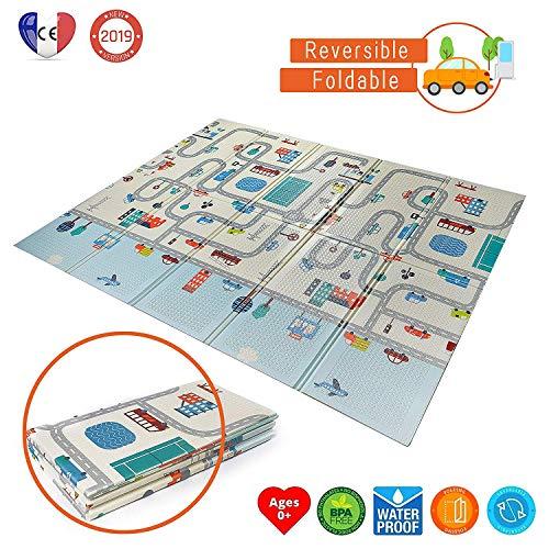 Babify Alfombra Juegos Reversible XL/Colchoneta Infantil