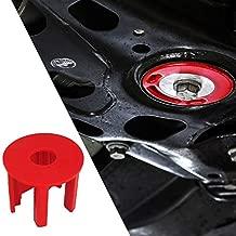 Kyostar Engineering Dog Bone Engine Mount Kit,Red Engine Mount Insert Fit for VW Golf GTI Rabbit MK5 2.0TSI