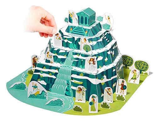 Forum Traiani Olimpo dei Cielo, il greco Pantheon, fai da te, Arco di cartone modello storia di costruzione romana sperimentare e begreifen