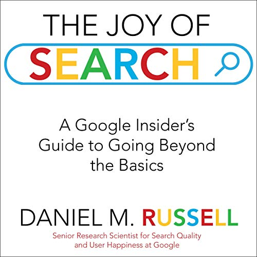 The Joy of Search audiobook cover art