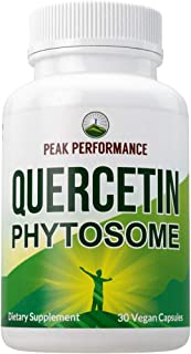 Quercetin Phytosome Vegan Capsules - Pure Quercetin Rich Sophora Japonica Extract for Max Absorption.