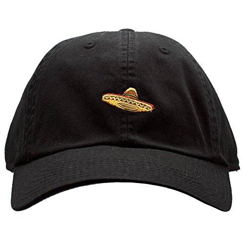 American Nadel Sombrero Micro Dad Hat in Schwarz