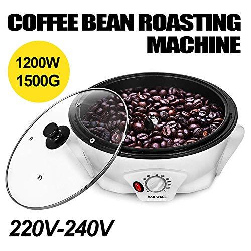 BananaB 1200W Elektrische Kaffee Röster Maschine 220V Household Coffee Bean Roasting Machine 1500g Coffee Beans Baking Roaster Machine