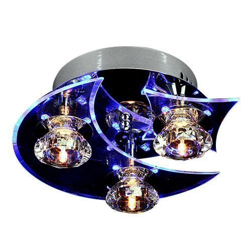 Lightinthebox 枝形吊灯现代 LED 水晶生活 3 灯 20W 天花板灯吊灯 3 灯具照明吊灯