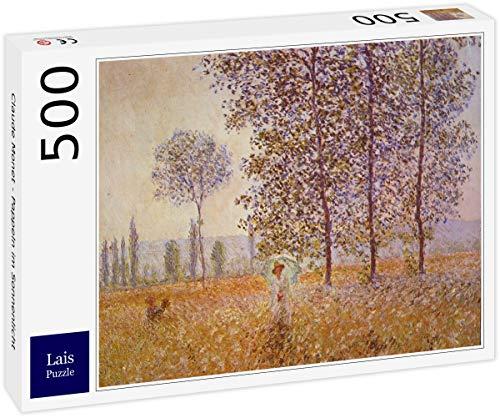 Lais Puzzle Claude Monet - Pioppi alla Luce del Sole 500 Pezzi