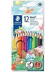 Staedtler Noris Club 144NC12boyama kalemleri, çeşitli renklerde