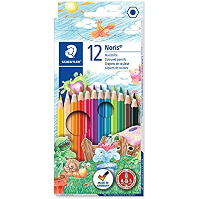 Staedtler Noris Colouring Pencil Pack of 12 Peach