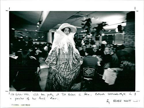 Vintage photograph of Vivienne Westwood