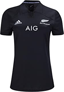 All Blacks Women's Home Rugby Jersey