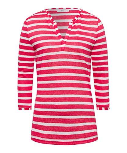 BRAX Damen Style Claire Tunika-Shirt, Papaya, 40