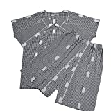 Hombres Easy Wear algodón Parálisis enfermería ropa, ancianos y discapacitados pijama de enfermería Ropa,Suits,S