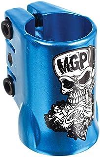 Mgp Oversize Skull Triple Kick Scooter Clamp - Blue