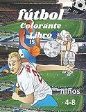 fútbol colorante libro: libro para colorear de fútbol. libro de colorear...