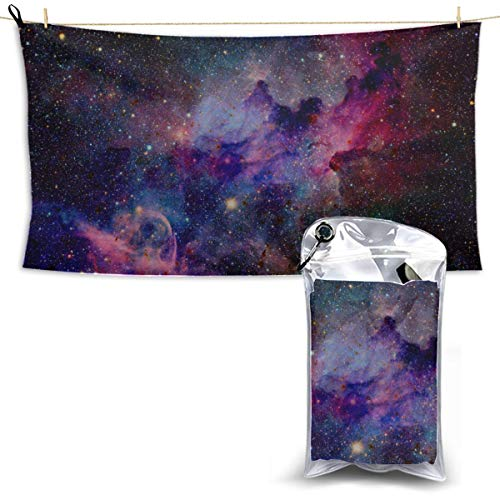 Outer Space Solar System Microfiber Towels for Baby Travel Towel Shower Cool Beach Towels Sport Towel Gym 27.5'' X 51''(70 X 130cm) Best for Gym Travel Camp Yoga Fitnes