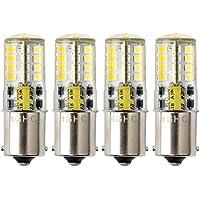 P21W Ba15s 1156 Bombilla LED,HRYSPN 12V 5W blanco frío 6000K 500LM, para Luces Traseras, Marcha Atrás Luz, barco, RV,4unidades