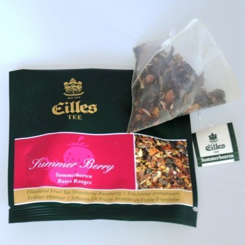 Eilles Tee Sommerbeere, 10 x 2,5g, Tea Diamonds, einzeln kuvertiert