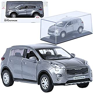 Pino B&D 1:38 KIA THE SUV SPORTAGE Mineral Silver Display Mini Car