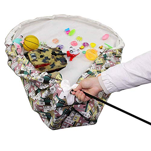 YUEXING Storage bag 60 inch toy bag storage bag toy carpet for nursery storage bags storage