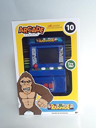Price comparison product image Arcade Classics - Rampage Mini Arcade Game