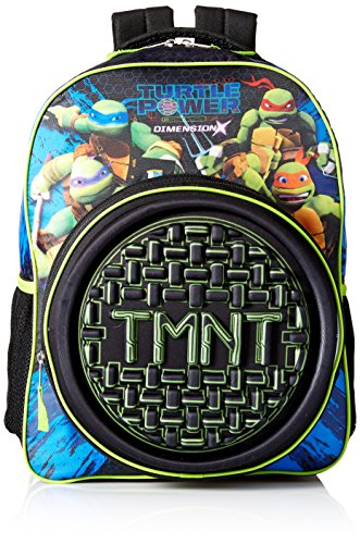 Nickelodeon Boys' TMNT Sewer Neoprene 16' Backpack, black