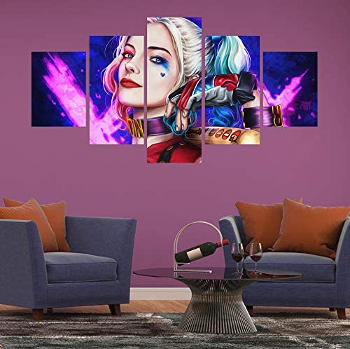 Harley quinn room decor _image3