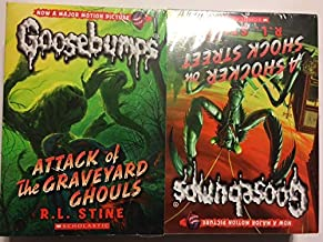 Goosebumps 10 book set: the blob that ate everyone, attack of the graveyard ghouls, the haunted car, night of living dummy 2 and 3, a shocker on schock street, please don't feed the vampire, the ghost