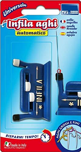 Parodi & Parodi Couture - Enfile-Aiguille Automatique pour Aiguilles Grandes et Fines, en Différentes Couleurs, 18 x 8 x 3 cm
