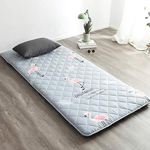 GLF Japanese Folding Student Dorm Mattress, Futon Mattress, Single Double Floor Portable Mattress, Tatami J Soft Breathable Futon Mattresses 180x200cm (71x79 inch)