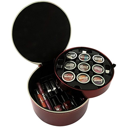 Gloss! Mallette de Maquillage Luxurious Collection Red - 34pcs