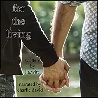For the Living audiobook cover art