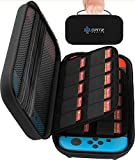 Ortz Carry Case for Nintendo Switch [Stores 29 Games] Premium Quality Protective Portable Hard Carry Case Pouch for Nintendo Switch Console Accessories - Best Game Travel Case Black [nintendo_switch]